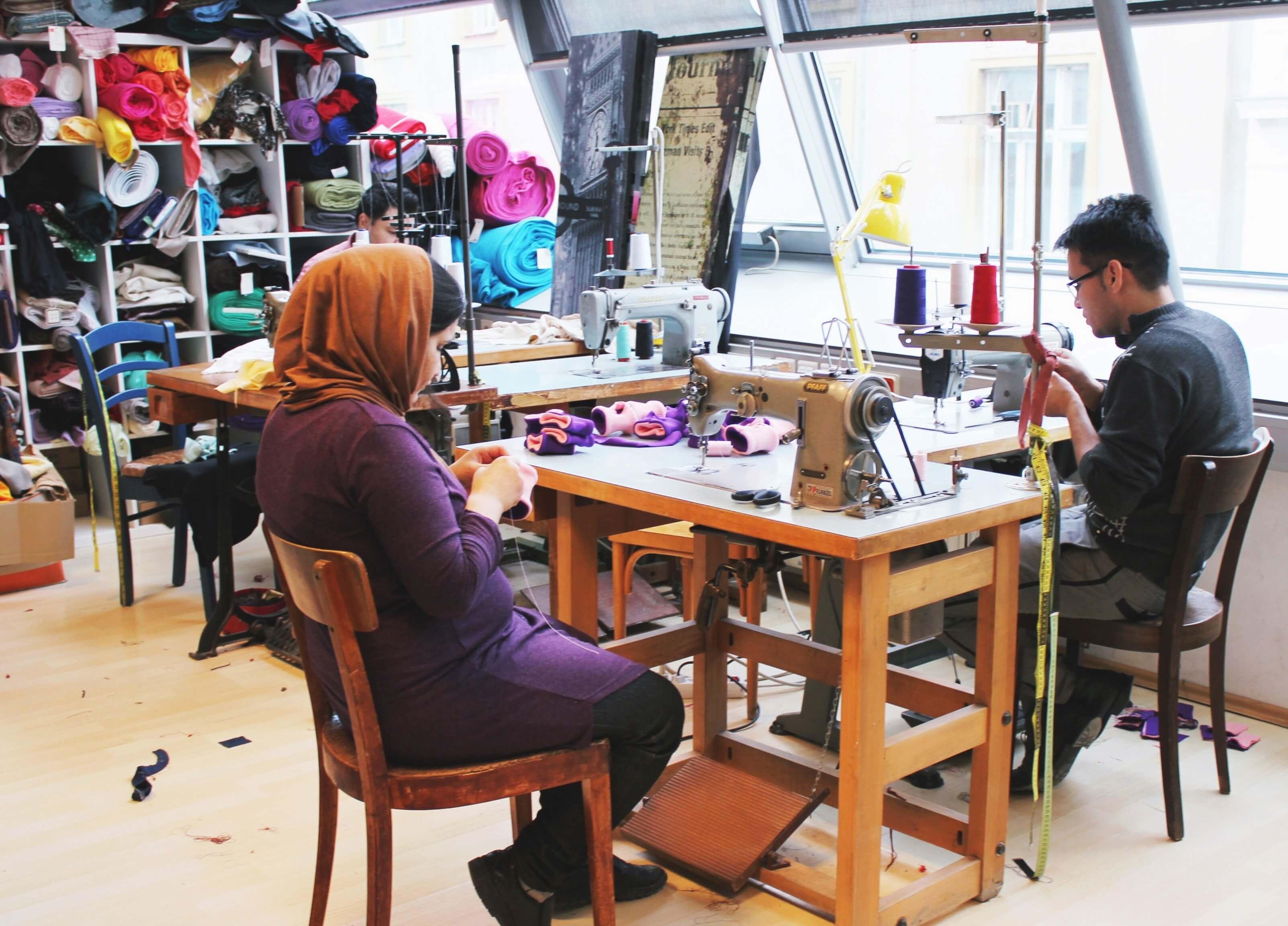 Kattunfabrik – Das Cuture Lab. Reparieren statt wegwerfen.