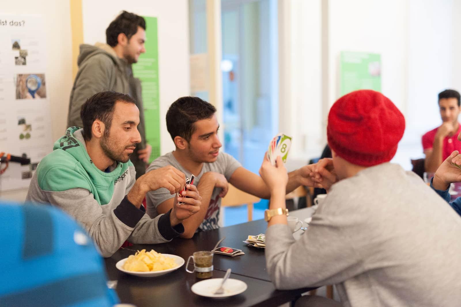 Fremde werden Freunde – eine Initiative für respektvolle Integration.