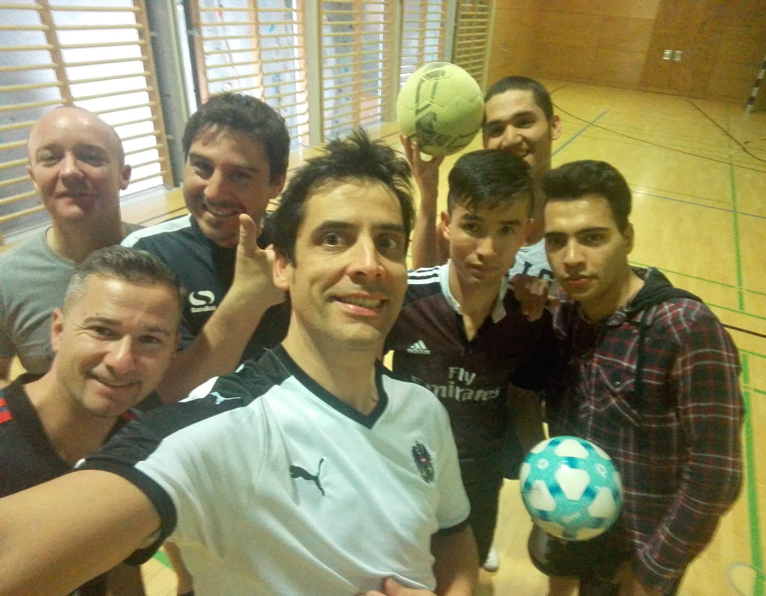 Elf Spieler, ein Team. Sport als Integrationshelfer.